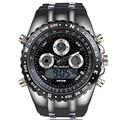 Reloj Marca de Lujo Del Reloj del Deporte Militar hombres Relojes Impermeables Del Reloj Del Silicón LED Digital Hombres Reloj de Pulsera