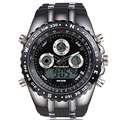 Reloj Marca de Luxo Relógio de Pulso dos homens Do Esporte Militar Relógios Moda Silicone LED Relógio Digital Homens Relógio de Pulso À Prova D' Água