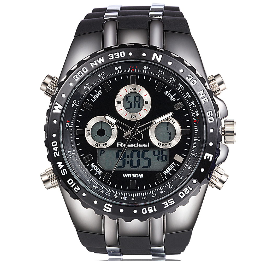Watches font b Men b font Luxury Brand Male Clock Digital Quartz Watch Digital LED Watch