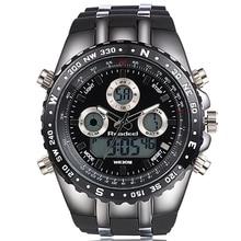 Relojes Hombres Marca de Lujo Hombre Reloj Digital Reloj Digital LED Reloj de Cuarzo Militar Del Ejército Relojes Deportivos relogio masculino 2016