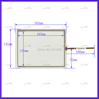 8 4 Inch Touch Screen 4 Wire Resistive Touch Panel For Industrial Touch Panel 183 141
