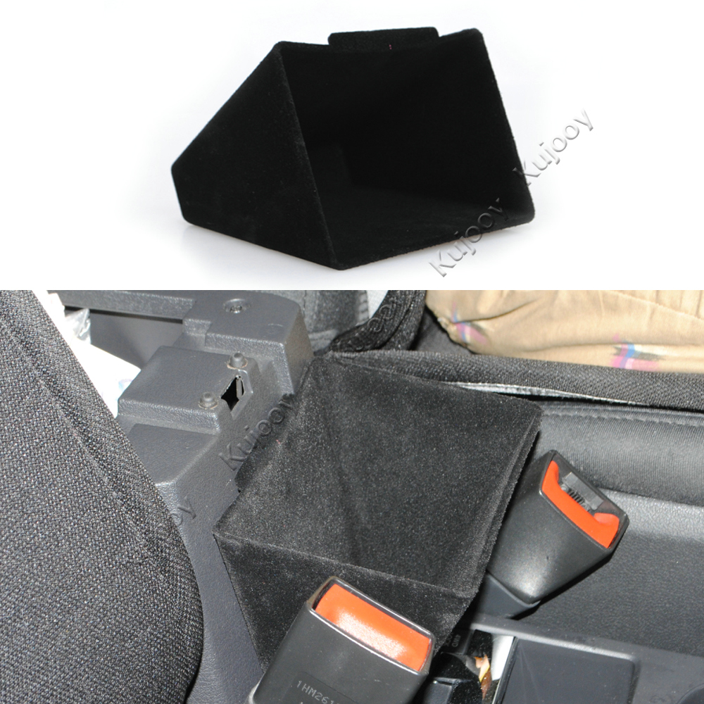 ABS Armrest Side Storage Box Cash Phone Accessory Organizer Container Holder Case For Jeep Compass Patriot 11-16 Car Styling