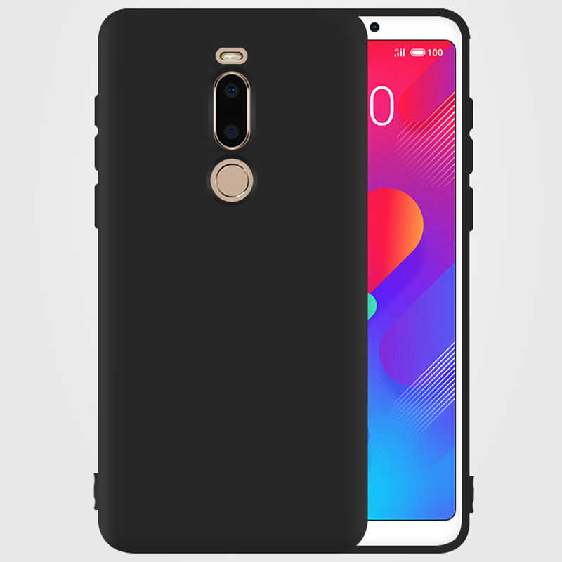 TPU Case For MEIZU X8 PRO7 16 16PLUS Note8 U20 Phone Case High Quality Black Protection Cover Shell Cases