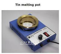 300 واط المقاوم للصدأ اللحيم وعاء صغير مصغرة القصدير بوتقة التنظيم الحراري