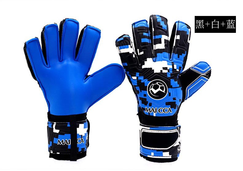 Professional Goalkeeper Gloves Finger Protection Thickened Latex Soccer Goalie Gloves Football Goalkeeper Gloves,Free shipping! стоимость