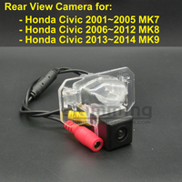 Car Rear View Camera for Honda Civic MK7 MK8 MK9 2001 2002 2003 2004 2005 2006 2007 2008 2009 2010 2011 2012 2013 2014 Parking