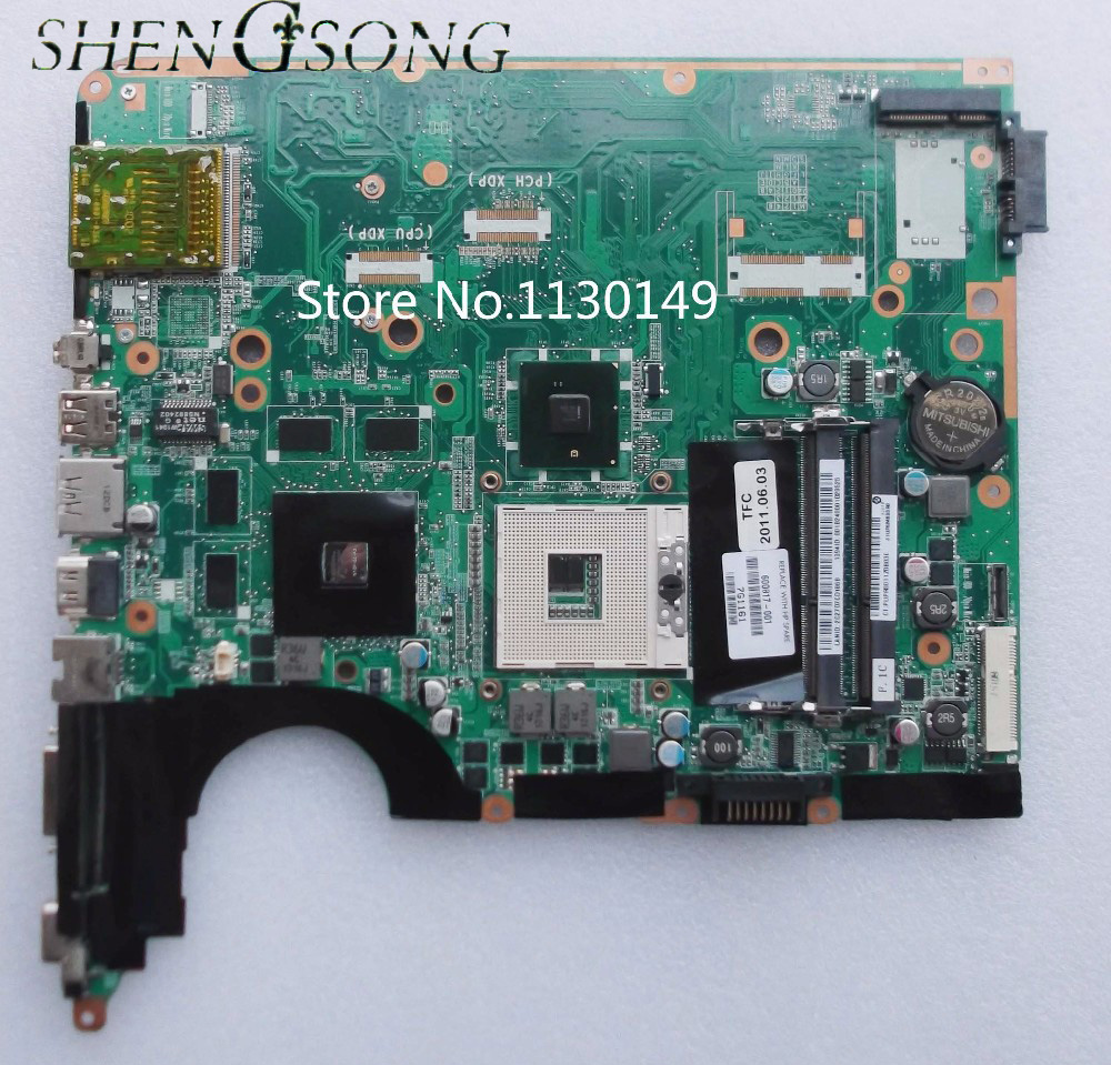Free Shipping 600817-001 Laptop motherboard for HP DV6 DV6-2000 Non-Integrated DA0UP6MB6F0 fully tested 701764 001 701764 501 for hp 2000 notebook for hp 2000 laptop motherboard for amd e300 cpu with integrated 100% tested fully