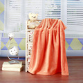 70x100 cm color Sólido de franela coral polar manta coche estera rodilla bebé bebé aire acondicionado manta gruesa de coral terciopelo Pañales