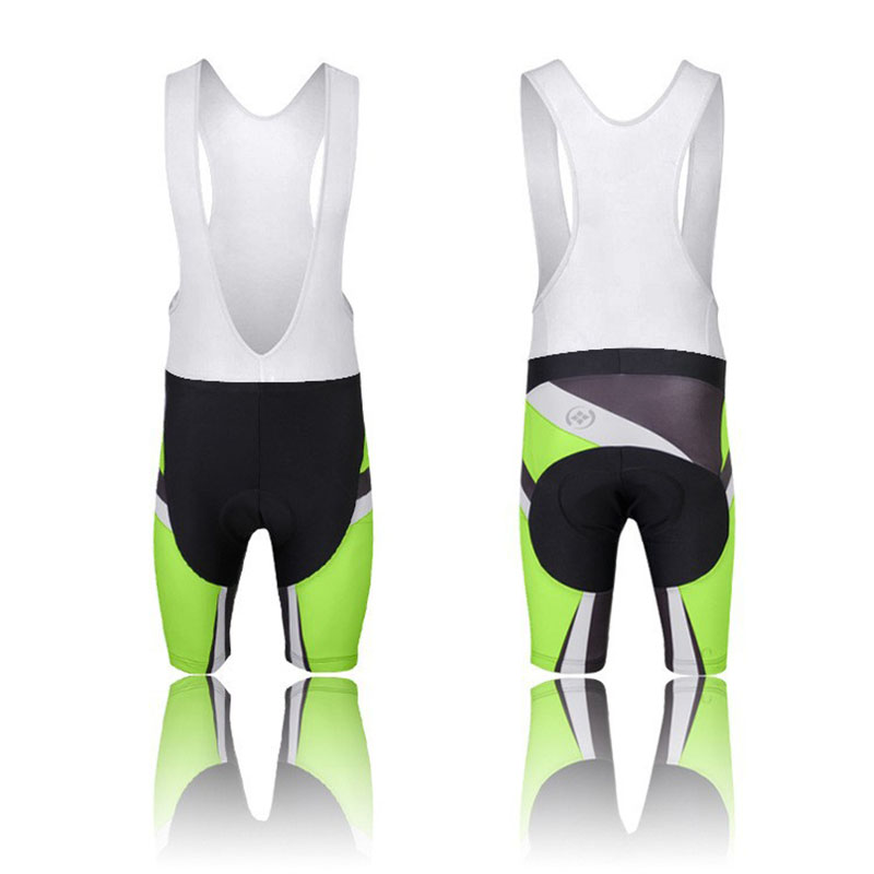 5b71f2125ab 사이클링 턱받이 반바지 남성 야외 의류 자전거 Roupa Ciclismo 자전거 3D 실리콘 패딩 사이클링 반바지 S-3XL  CC0187-BS