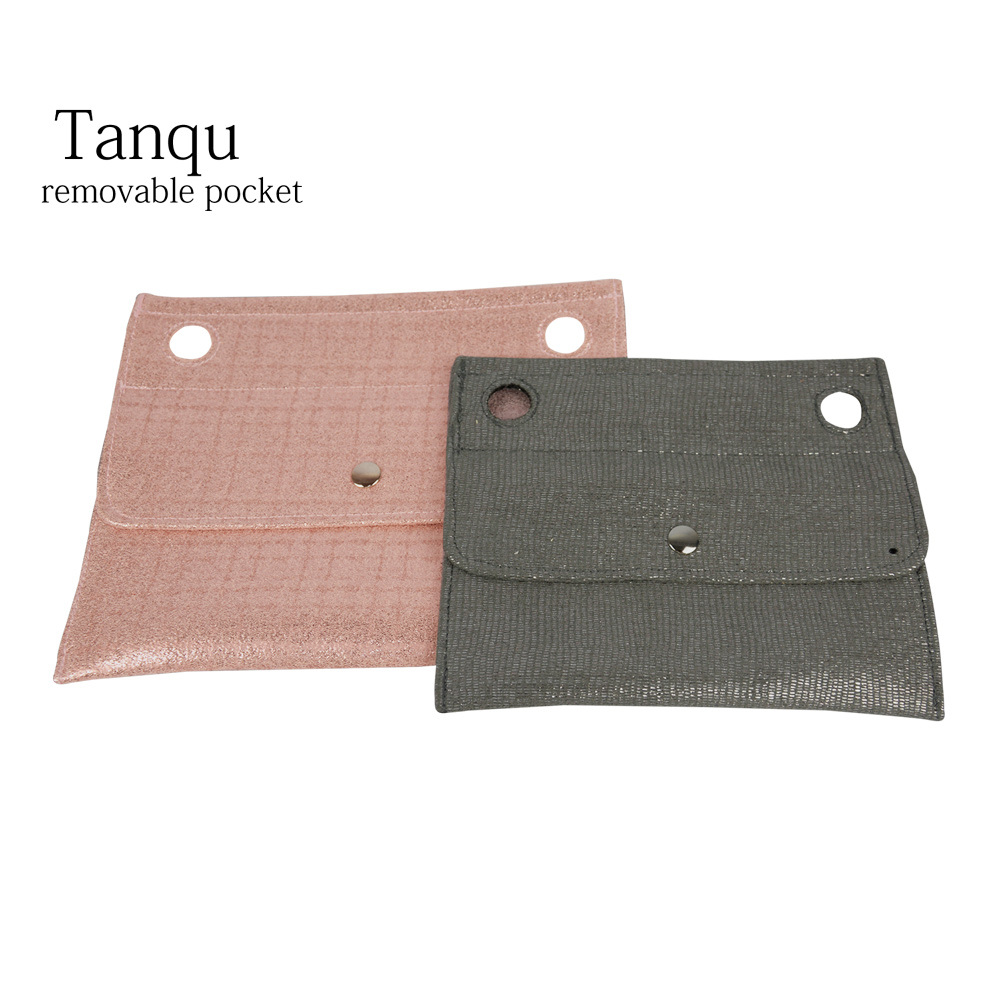 2019 Tanqu New Gilding Small Pocket For Classic Mini Obag For O 50' O Bag Inner Outside For O 50 Bag
