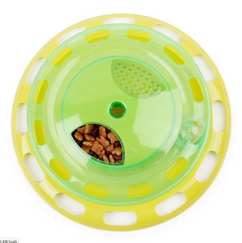 Cat Kitty Cat Toy Interactive Turntable Pet Toy Training Pllaka - Produkte për kafshet shtëpiake - Foto 3