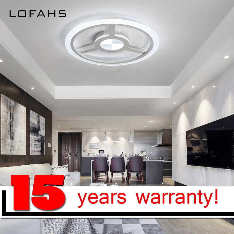 LOFAHS Modern LED ceiling lights for living dining room bedroom study with remote dimmable steering wheel ceiling lamp fixtures noosion modern led ceiling lamp for bedroom room black and white color with crystal plafon techo iluminacion lustre de plafond