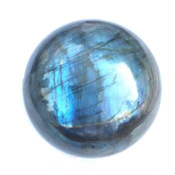 One kilo Wholesale Natural Gemstone Polished Blue Flash Labradorite Crystal Ball Spheres quartz crystal ball healing for sale