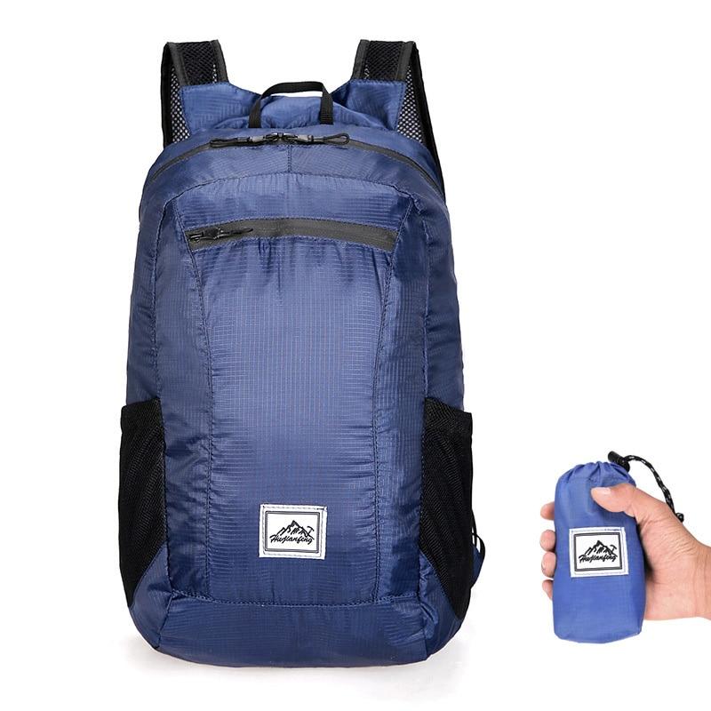 Backpack Men Portable Folding Backpack Women Outdoor Hiking Ultralight Travel Backpacks 20L Waterproof Camping Foldable Bags