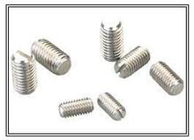 M2.5x3 M2.5x4 Slotted Set Screws With Flat Point Stainless Steel Grub Screw Pack 100