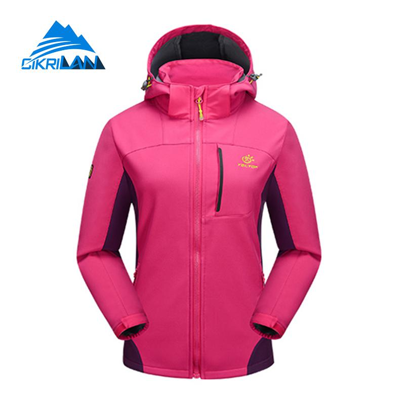 Womens Autumn Outdoor Sport Camping Hiking font b Jacket b font Women Water Resistant Windproof Coat
