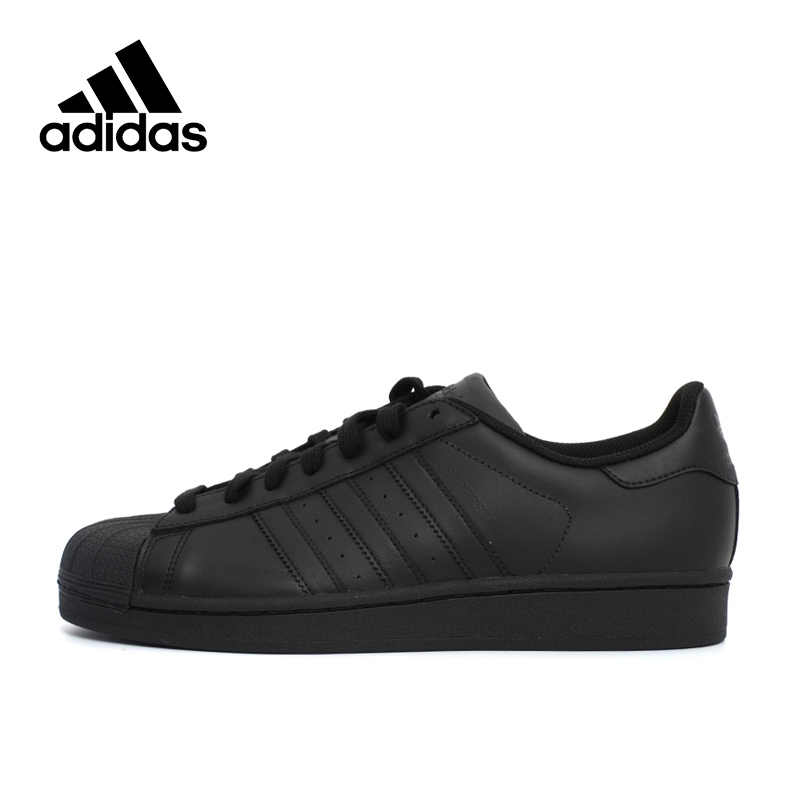 huge selection of f85c9 2f7dc Adidas Originals SUPERSTAR Black Hard-Wearing Men s and Women s Walking  shoes,New Arrival Authentic