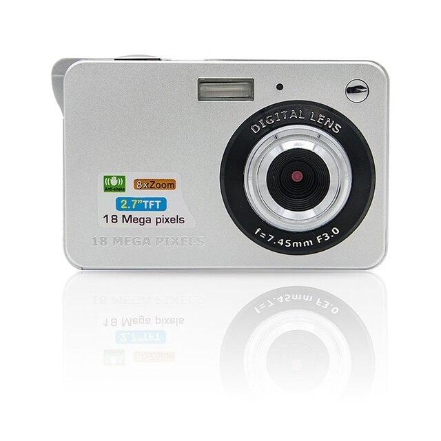 18 Mega Pixels 3.0MP CMOS sensor 2.7 inch TFT LCD Screen HD 720P Digital Camera Dropshipping HWHW