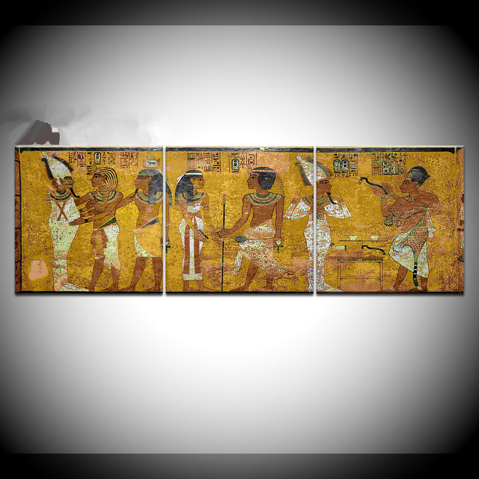 Modern Art Inspired By Ancient Egypt