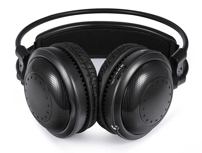 Ultra low bass Silent disco Wireless earphone RF Silent Disco headphone For iPod MP3 DJ music party club 16