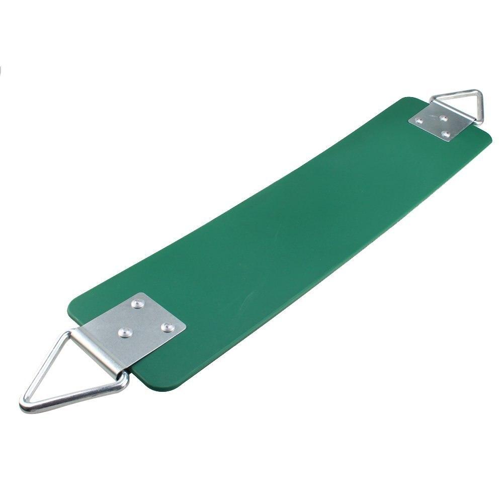 77.2*15*0.7 cm Swing Siège avec Crochet En Métal Vert Foncé, 300 kg/660 LB Poids Limite