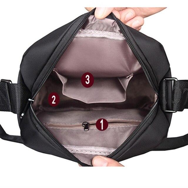 VORMOR Men bag 2018 fashion mens shoulder bags, high quality oxford casual messenger bag business men's travel bags 4