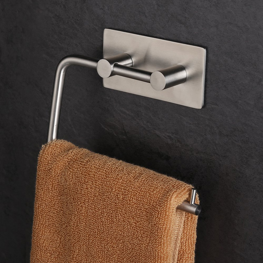 Yontree 1 Pc 304 Stainless Steel Towel Rack Tissue Holder