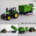 Candice guo! New arrival hot sale farm tractors series vegetable truck alloy model car toy car good for gift 1pc