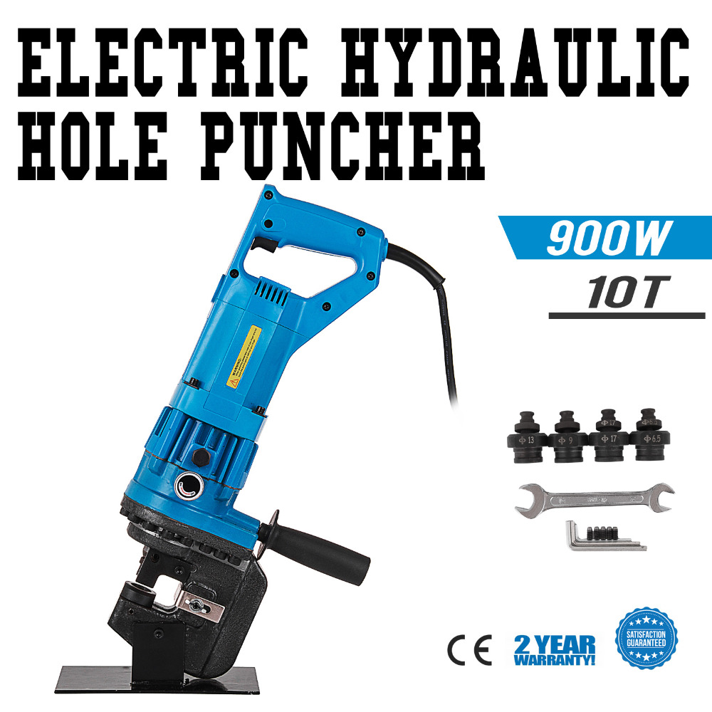 Electro-Hydraulic Sheet Metal Hole Punch Puncher Press Knockout Metric Die