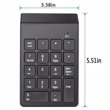 USB Numeric Keypad Mini Numpad 18 Keys Digital Keyboard for iMac/MacBook Air Laptop PC Notebook Desktop #249695