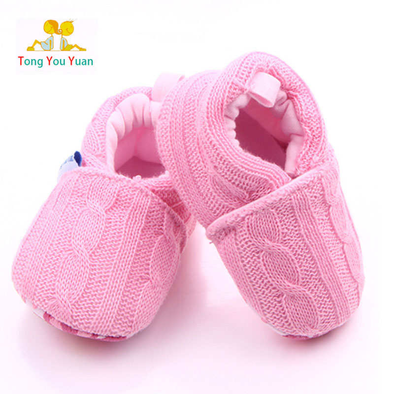 c562ce0e80c knitting wool baby shoes can not afford to newborn boys girls first walking  Infant Toddler Home Slippers Kids Gifts xz72
