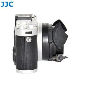 Image 5 - JJC オートレンズキャップライカ X1/X2 黒シルバー自己保持型自動オープンクローズプロテクター