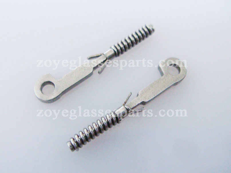 1.0mm stainless steel spring insert for eyewear TX-003, eyeglass springs insert for repairing TX-003