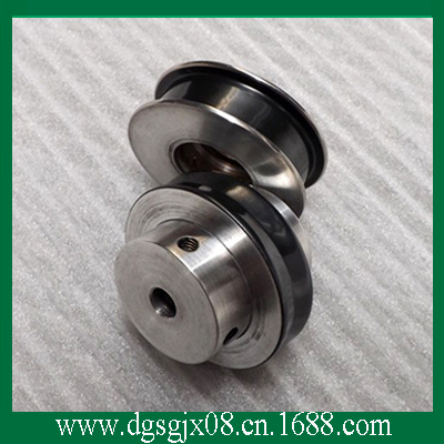 Ceramic Coated Guide Roller,  Doubling Machine Idler Pulley, Excellent Wear Resistance Wire Drawing Pulley