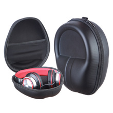 Outdoor Traveling Carry EVA Case Earphones Protective Storage Portable Handle Bag Headset Pouch for Headphone Headset