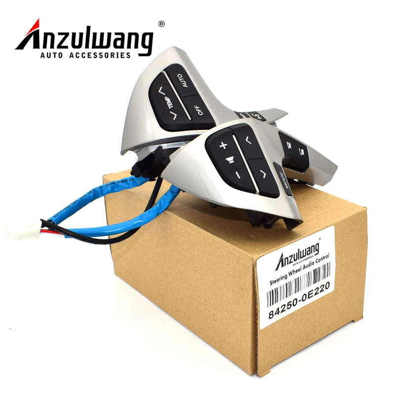 ANZULWANG New Auto Steering Wheel Audio Control Button Switch For TOYOTA HIGHLANDER 84250-0E220