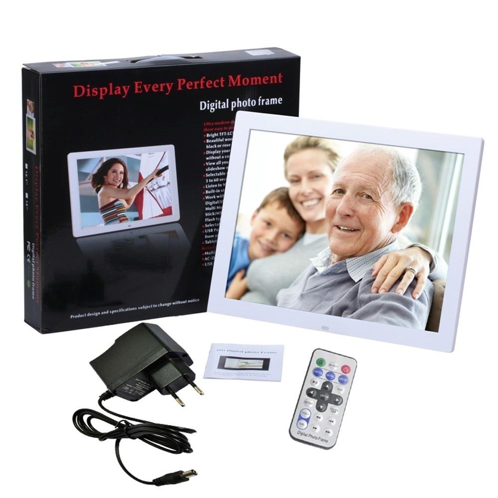 15 pulgadas TFT pantalla LED de Alta Definición Marco álbum de fotos ...