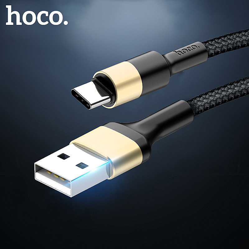 HOCO Mobile Phone Cables  USB Type C Cable 2A USB C Cable Fast Charging Data Cable For Samsung S9 Xiaomi mi 8 Huawei P20 lite|Mobile Phone Cables|   - AliExpress