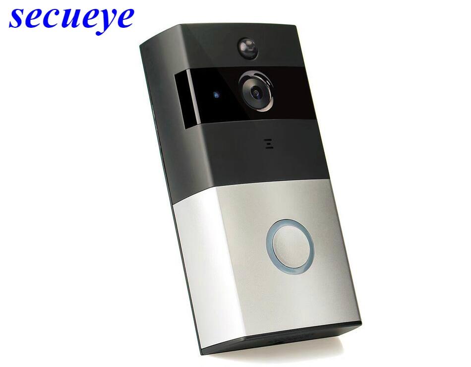 все цены на Secueye Wireless Video Door Phone HD PIR WIFI Doorbell Intercom 720P IP Camera Battery Power Audio SD Card Slot Outdoor Security онлайн