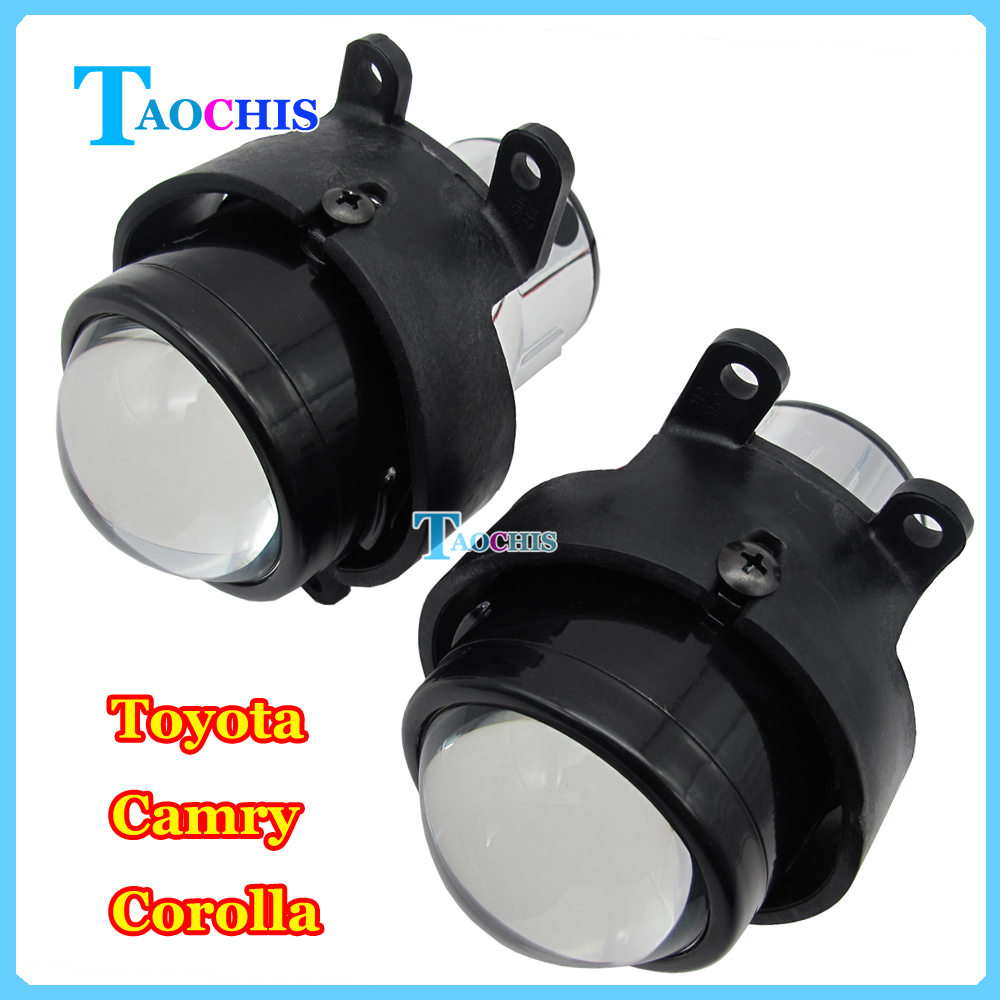 Автомобиль Taochis М6 2.5 дюймов би ксенон объектив проектора комплект фар Н11 Лампы в противотуманки четко выделенного для Тойота Королла Противотуманные фары