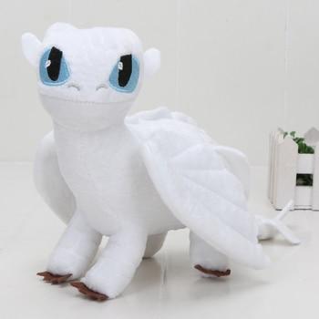 55cm 22cm 33cm 40cm Train Dragon Toothless Dragon Soft Stuffed Animal Plush Toys Juguetes de Peluches Bebe 9