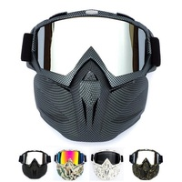 Retro Harley Tactical Mask Harley Goggle Glasses Mask For Nerf Toy Gun Game Rival Ball Outdoor