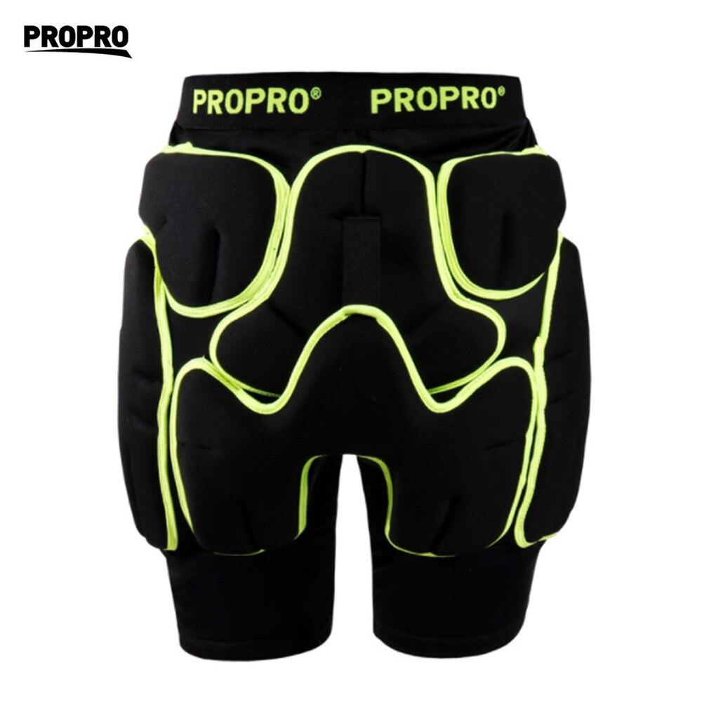 PROPRO short de Protection pour patinage hommes femmes coussinets en caoutchouc protecteur de hanche ski snowboard cyclisme Protection de l'équipement de sport