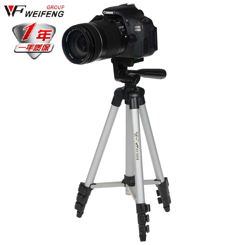 (Unfolded 1020mm) Portable Professional Camera Tripod High Quality Universal Tripod For Camera / Mobile Phone / Tablet