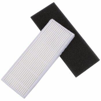 20 Unids/lote HEPA Filtro Y Filtros De Esponja Reemplazos Para Ilife A4s A6 A4 A40 Filtro De Limpieza De Polvo Accesorios De Aspiradora