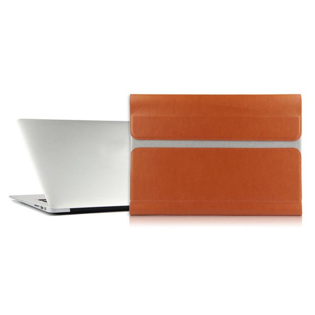 """PU Leather Bag for MacBook Pro 13 Sleeve Ultra-thin Laptop Case For Xiaomi Mi pro 13"""" Notebook Air Protective Skin Laptop Bag"""