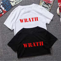 Limited WRATH Natural Selection Logo Design Men Black T-Shirt Size XS-XXL