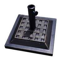 17.5 Heavy Duty Square Umbrella Base Stand High Quality Outdoor Patio Furniture OP2263
