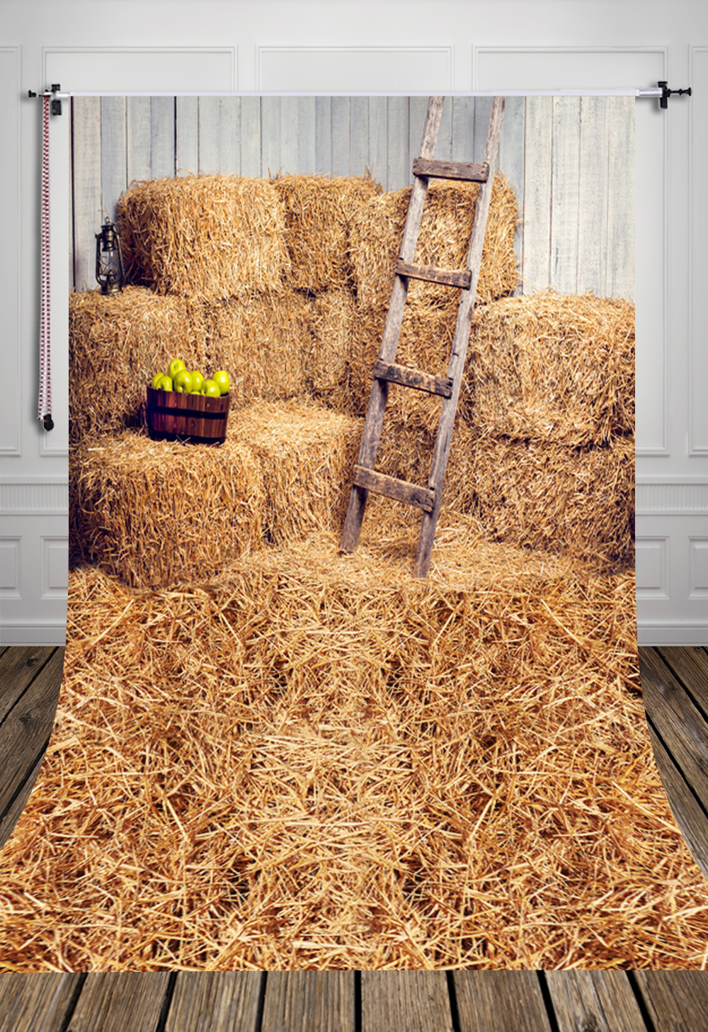 D-6160 Haystack Rick and Wood Barn Photography  Newborn Backdrop background newborn wallpaper flooring цена 2016