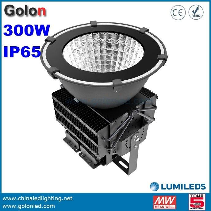 Led Flood Light For High Mast: 300W LED Floodlight For High Mast Lighting 100 277V Cold